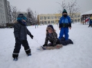 Zimowe zabawy na śniegu _5